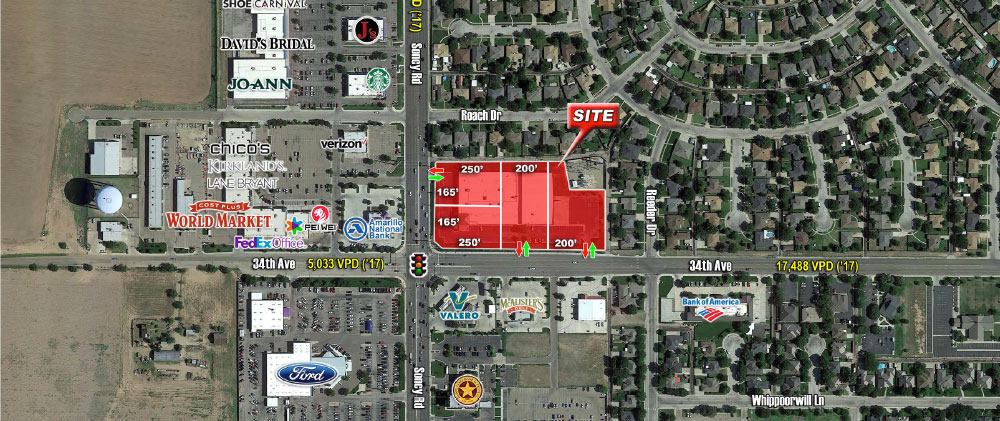 Amarillo Building Available Divisible At Sw 34th Ave